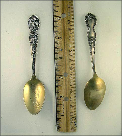 Water Carrier, Pulque Gatherer, Donkey Souvenir Spoon_MAIN
