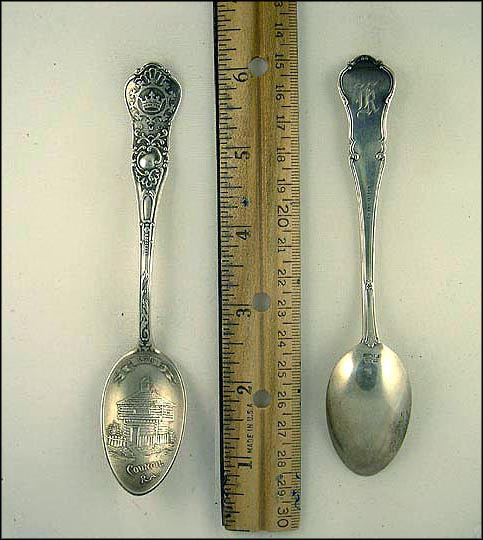 Royal Arcanum V.M.C. 1105, Council 278 Souvenir Spoon