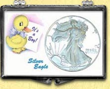 Snaplock - It's A Boy - Duck - Silver Eagle MAIN