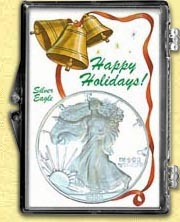 Snaplock - Happy Holidays Silver Eagle MAIN