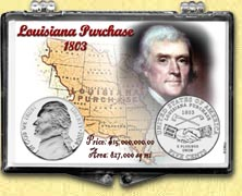 Jefferson Nickel - 2004 Louisiana Purchase