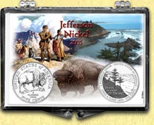 Jefferson Nickel - 2005 Set of 2