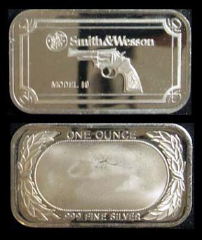Smith & Wesson Model 19' Art Bar.