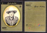 Gene Autry - SN000; 1 g 999.9 Gold