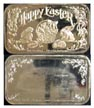 Happy Easter' Art Bar by Crown Mint. THUMBNAIL