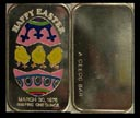 Happy Easter 1976 - enameled' Art Bar by Ceeco Mint. THUMBNAIL