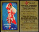 Marlene Dietrich by Gregory Perillo, Phone Card - Test Card' Art Bar. THUMBNAIL