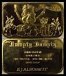Watergate 'Humpty Dumpty' - Inauguration, gold plated' Art Bar by EJ Aleo & Associates. THUMBNAIL