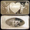 Be My Valentine - 1974' Art Bar by Great Lakes Mint. THUMBNAIL