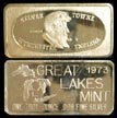 Silver Towne' Art Bar by Great Lakes Mint. THUMBNAIL