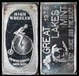 High Wheeler Centennial (Bicycle)' Art Bar by Great Lakes Mint. THUMBNAIL