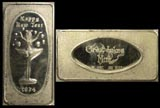 Happy New Year 1974' Art Bar by Great Lakes Mint. THUMBNAIL