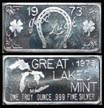 Good Luck' Art Bar by Great Lakes Mint.
