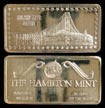 Golden Gate Bridge' Art Bar by Hamilton Mint. THUMBNAIL
