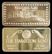 Wright Brothers' Plane' Art Bar by Hamilton Mint. THUMBNAIL