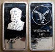William H. Taft' Art Bar by Hamilton Mint. THUMBNAIL