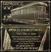 Armistice WWI' Art Bar by Hamilton Mint. THUMBNAIL