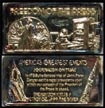 Freedom of the Press, gold plated' Art Bar by Hamilton Mint. THUMBNAIL