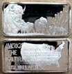 American Bison' Art Bar by Hamilton Mint.