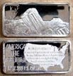 Petrified Forest' Art Bar by Hamilton Mint. THUMBNAIL