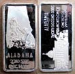 Alabama' Art Bar by Hamilton Mint.