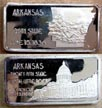 Arkansas' Art Bar by Hamilton Mint.