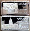 Colorado' Art Bar by Hamilton Mint.