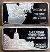 Georgia' Art Bar by Hamilton Mint.