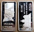 Indiana' Art Bar by Hamilton Mint.