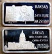 Kansas' Art Bar by Hamilton Mint.