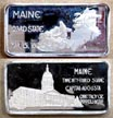 Maine' Art Bar by Hamilton Mint.