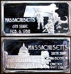 Massachusetts' Art Bar by Hamilton Mint.