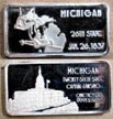 Michigan' Art Bar by Hamilton Mint.