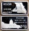 Missouri' Art Bar by Hamilton Mint.