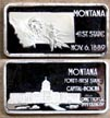 Montana' Art Bar by Hamilton Mint.