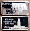 Nebraska' Art Bar by Hamilton Mint.