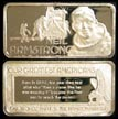 Neil Armstrong' Art Bar by Hamilton Mint.