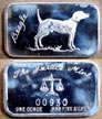 Beagle' Art Bar by Justice Mint. THUMBNAIL