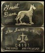 Great Dane' Art Bar by Justice Mint.