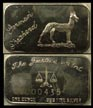 German Shepherd' Art Bar by Justice Mint. THUMBNAIL