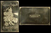 St. Patrick's Day 1975' Art Bar by Madison Mint. THUMBNAIL
