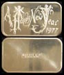 Happy New Year 1977' Art Bar by Madison Mint. THUMBNAIL