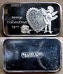 Be My Valentine 1977' Art Bar by Madison Mint. THUMBNAIL