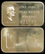 Abraham Lincoln' Art Bar by Madison Mint. THUMBNAIL