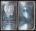 Valentine's Day 1973' Art Bar by Madison Mint. THUMBNAIL