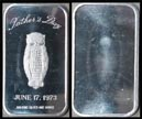 Father's Day 1973' Art Bar by Madison Mint. THUMBNAIL