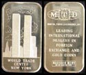 World Trade Center' Art Bar by Madison Mint. THUMBNAIL