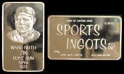 Babe Ruth' Art Bar by Mount Everest Mint.