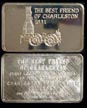 Locomotive - The Best Friend Of Charleston 1831' Art Bar by Mount Everest Mint.