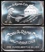 Coin-A-Rama-City' Art Bar by Mother Lode Mint. THUMBNAIL